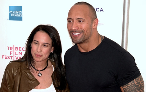 Dwayne-Johnson-and-Dany-Garcia